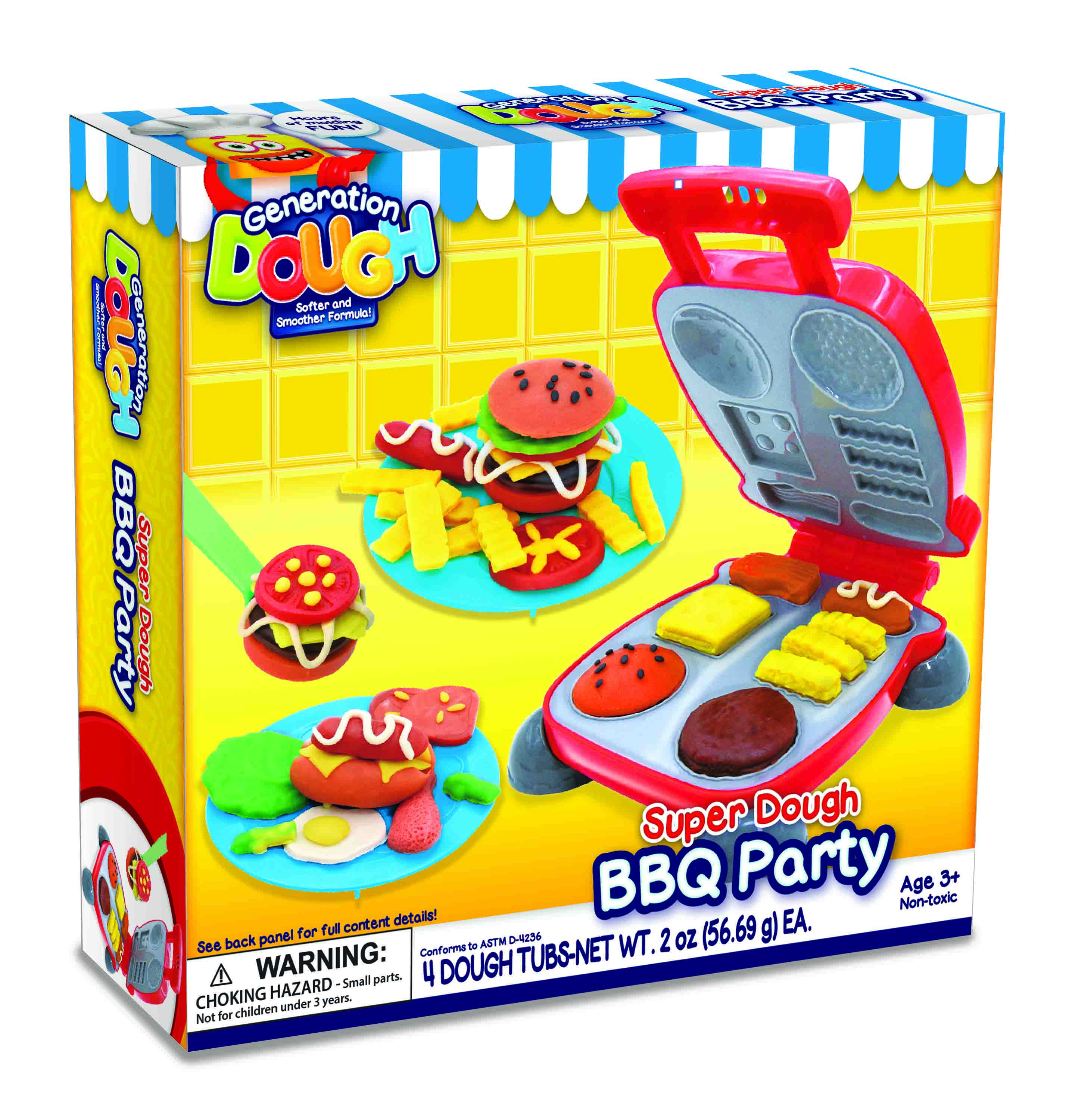 SUPER DOUGH BBQ PARTY